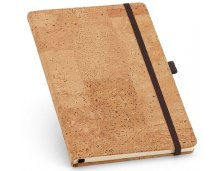 Caderno em Cortiça Personalizado