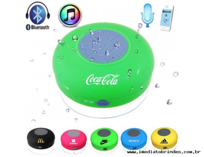 be0d40277 Caixa de Som a Prova D Agua Bluetooth para Brindes