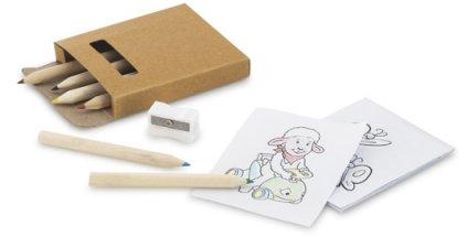 Kit Infantil Lápis de Cor