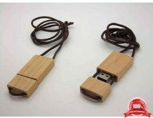 Pendrive Eco Retangulo Cordão Personalizado