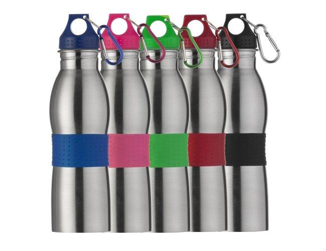 Squeeze Inox Color 600ml Personalizado